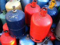 Bonbonnes de gaz