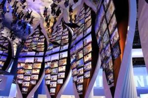Ecrans TV HD au CES 2010 de Las Vegas